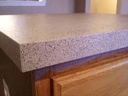 kitchen countertop with stone spray