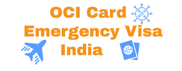 visa process to india for oci card