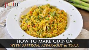 Quinoa Recipe with Asparagus & Tuna ...