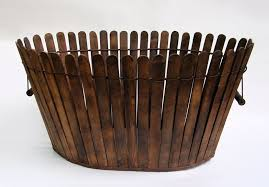 Gorgeous Antique Shaker Basket Inspiration My Way Paint Stirring Sticks Wooden Base Wire Small Nails Spools For Handle Basket Basket And Crate Old Baskets