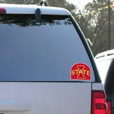 Iowa State University Window Decal Set Of 2 I State