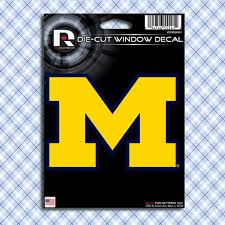 University Of Michigan Wolverines Uofm Car Decals Stickers
