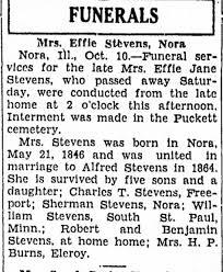 Effie Jane Haskell Stevens - Newspapers.com