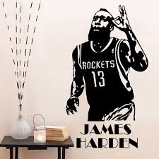 Basketball Lebron James Nba Wall Decal Decor Sticker Wall Stickers Bedroom Decor Tx 408 Buy At The Price Of 12 74 In Aliexpress Com Imall Com