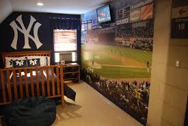 Wonderful Decoration Baseball Wall Mural Unusual Design Ideas Yankee Stadium Create A Custom Mural Baseball Yankee Bedroom Baseball Bedroom Ny Yankees Bedroom