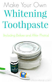 natural whitening toothpaste recipe
