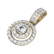 charming diamond solitaire pendant