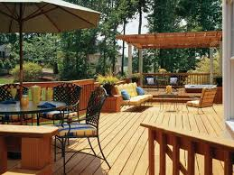 covered and uncovered area outdoor