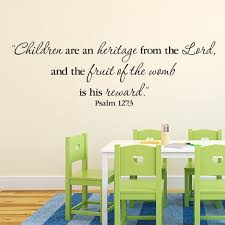 Psalm 127 3 Children Are An Heritage From The Lord And The Etsy