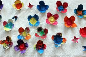 Znalezione obrazy dla zapytania: kwiaty z wytłaczanek po jajkach