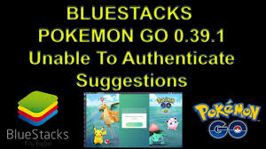 Bluestacks Pokemon Go 0.39.1 Unable To Authenticate Suggestions - YouTube
