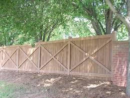 Capped Privacy Fences Alpharetta Marietta Ga Accent Fence