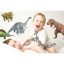 Dinosaur Wall Decals Fun Boys Room Sticker Decor Walmart Com Walmart Com