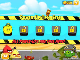Angry Birds Seasons Invasion Of The Eggsnatchers Power up test site