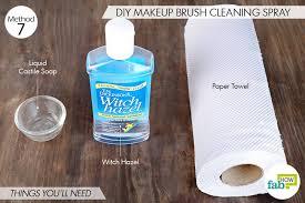 makeup brush cleaner recipe witch hazel