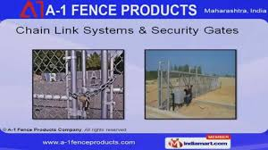 Manufacturing By A 1 Fence Products Company Private Ltd Thane Youtube
