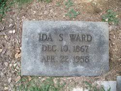 Ida Young Shelton Ward (1867-1958) - Find A Grave Memorial
