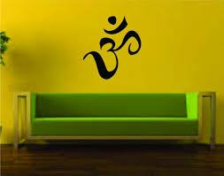 Large Om Symbol Version 101 Wall Decal Sticker Buddha Absolute Brahman Ezwalldecals