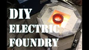 an electric foundry for metal casting