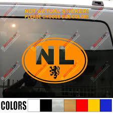 Netherlands Oval Nl Country Code With Lion Holland Dutch Car Truck Decal Sticker Vinyl Die Cut No Background Sticker Vinyl Decal Stickervinyl Decals Stickers Aliexpress