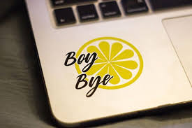 Boy Bye Decal Beyonce Decal Lemonade Album Quote Sorry Decal Beyonce Quote Vinyl Sticker Decals For Yeti Cups Cricut Projects Vinyl Boy Bye