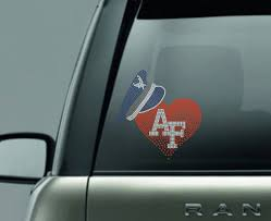 Air Force Heart Decal United States Air Force Armed Forces Military Car Decal Air Force Mom Air Force Wife Air Force Sister Tshirt Time