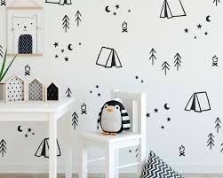 Camping Wall Decals Nursery Decor Gift For Mom Wall Decor Etsy