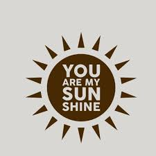 You Are My Sunshine Wall Decal Wayfair