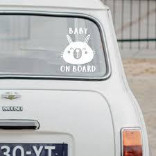 Baby On Board Sign Vinyl Car Decal Sticker Car Decals Vinyl Vinyl Signs Vinyl Decals