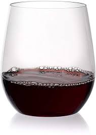 berevino plastic wine glasses stemless