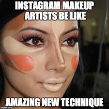 insram makeup artists quickmeme