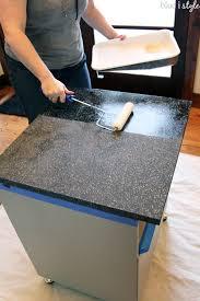 paint using rustoleum countertop