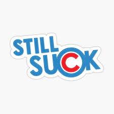 Cubs Suck Stickers Redbubble