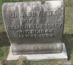 Abby Luella Fox Rooney (1844-1934) - Find A Grave Memorial
