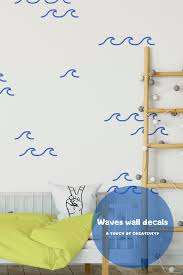 Ocean Waves Wall Decals Kids Room Wall Decor Sea Waves Wall Etsy In 2020 Kids Room Wall Decals Kids Room Wall Decor Kids Room Wall