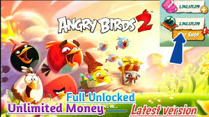 Angry Birds 2-Offline Mod apk Unlimited money Full unlocked Latest ...