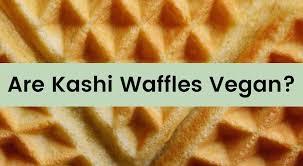 are kashi frozen waffles vegan we