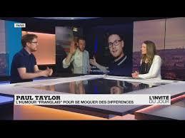 """Paul Taylor : """"Les Français adorent entendre parler d'eux"""" - YouTube"""