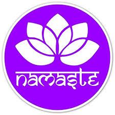 Lotus Yoga Namaste Round Bumper Window Buy Online In Japan At Desertcart