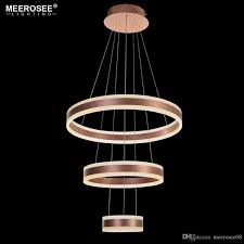 circle rings led pendant lights