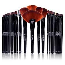 professional makeup brush set 24 pieces