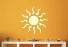 Sun Wall Decal Nice Sunny Vinyl Sticker Decor Sticker Decor Decal Wall Art Sticker Wall Art