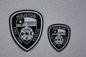 Decal Black Reflective Houston Fire Museum