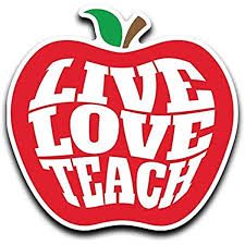 Amazon Com More Shiz Live Love Teach Teacher Apple Vinyl Decal Sticker Car Truck Van Suv Window Wall Cup Laptop One 5 Inch Decal Mks0645 Automotive