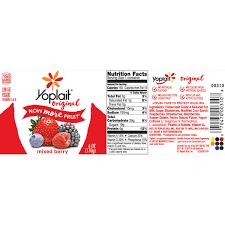 yoplait original mixed berry yogurt 6
