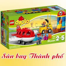 Mua LEGO Duplo 10590 Sân Bay Thành Phố (29 Chi Tiết) - Đồ Chơi Xếp Hình LEGO  Chính Hãng Đan Mạch chỉ 600.000₫