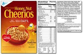 kix cereal nutrition label pensandpieces