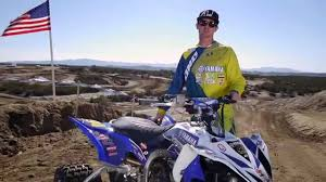 Dustin Nelson's 2014 Yamaha YFZ450R Quad X Race Bike - YouTube