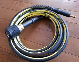 Dây xịt rửa áp lực nối dài dành cho máy rửa xe Karcher dòng EU và KAP, Dài  6 mét