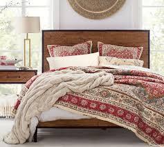 zarina print reversible cotton quilt